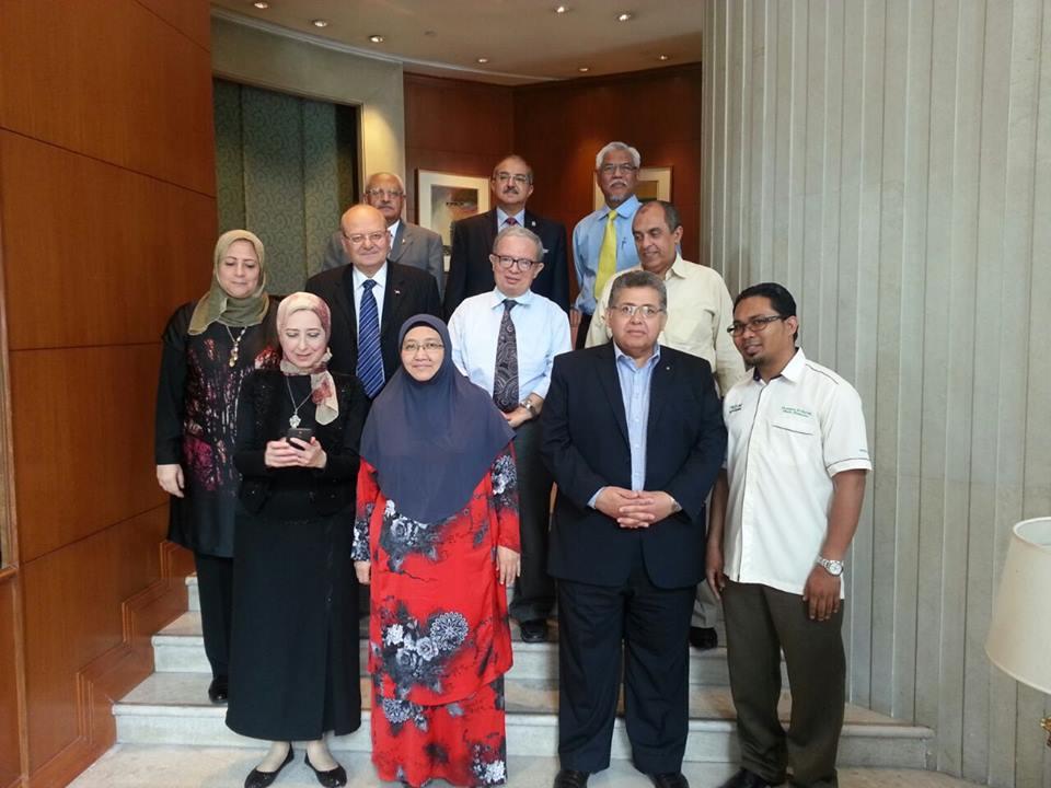 د. أشرف الشيحي رئيس جامعة الزقازيق في ماليزيا ضمن زيارة وفد الجامعات المصرية