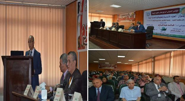 د. عثمان شعلان يفتتح أعمال المؤتمر الدولي الرابع عشر لعلوم البيئة بعلوم الزقازيق