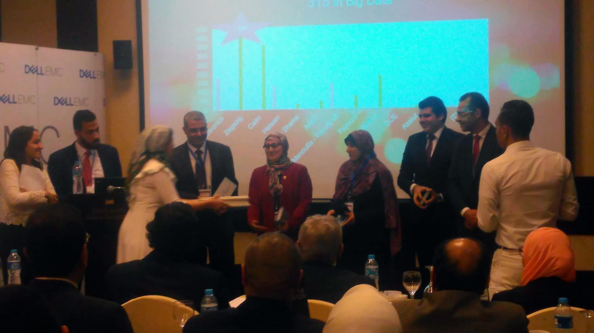 حاسبات الزقازيق الأولي علي مستوي الجامعات المصرية في مجالي الحوسبة السحابية وعلوم البيانات