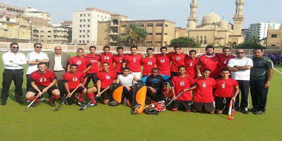 منتخب جامعة الزقازيق بطل الجامعات المصرية في الهوكي