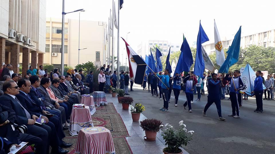 جامعة الزقازيق تحتفل بتدشين فعاليات مهرجان البيئة الخامس عشر