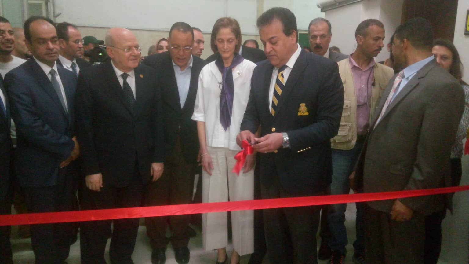 وزير التعليم العالي يشيد بمشروع المراكز الجامعية للتطوير المهني بجامعة الزقازيق