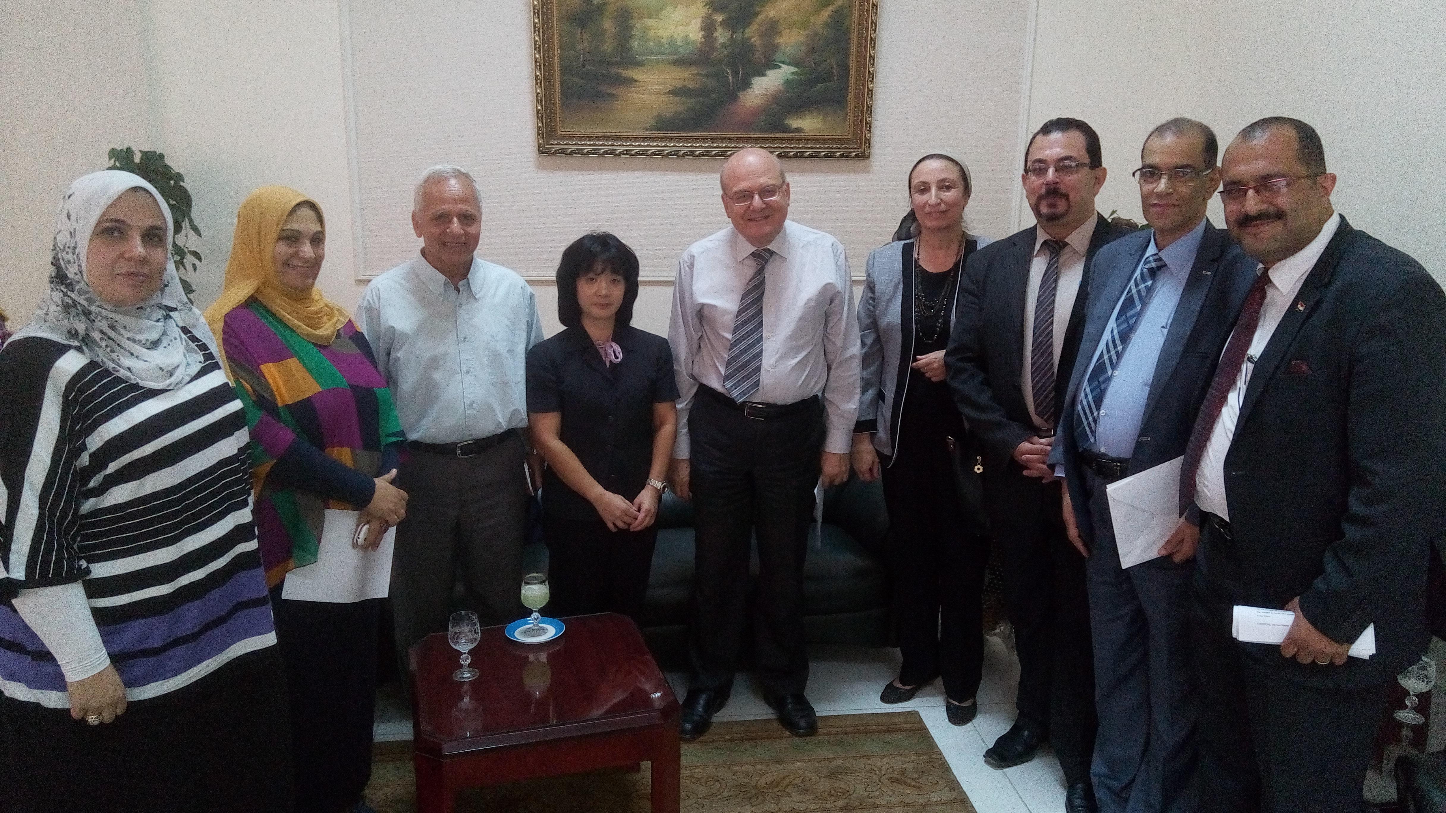 agreement scientific cooperation between Zagazig University and UNESCO