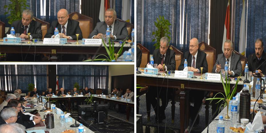 رئيس جامعة الزقازيق يعقد جلسة تشاورية لإنشاء جامعة الشرقية الأهلية بالعاشر من رمضان