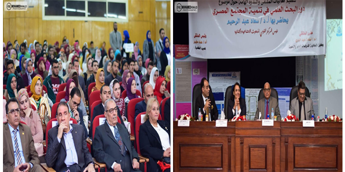 د. سعاد عبد الرحيم : بالعلم تنهض الأمم ولا تنمية بدون تعلم ولابد أن يرتبط العلم بالأخلاق والمهارات