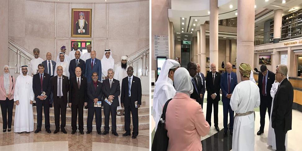 رئيس جامعة الزقازيق ممثلا لمصر في اجتماع المكتب التنفيذى لاتحاد الجامعات العربية بعمان