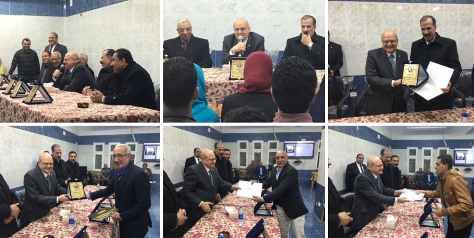 توزيع جوائز ختام الانشطة للمدن الجامعيه بجامعه الزقازيق