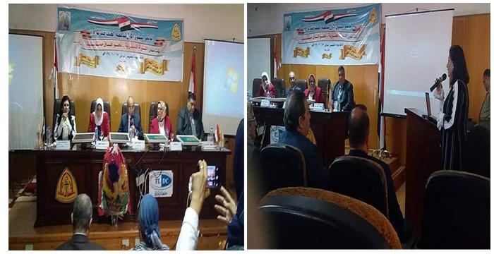 رئيس جامعة الزقازيق يؤكد: المرأة المصرية تحظي بدعم القيادة السياسية تقديرا لدورها كشريك رئيسي في بناء مصر المستقبل