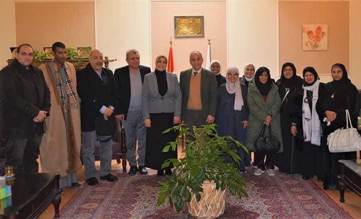 رئيس جامعة الزقازيق يستقبل وفد جمعية الرعاية الإسلامية بدولة الكويت