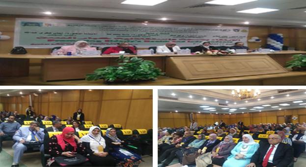 انطلاق فعاليات المؤتمر الدولي الأول للإرتقاء بصحة واستقلالية كبار السن بجامعة الزقازيق