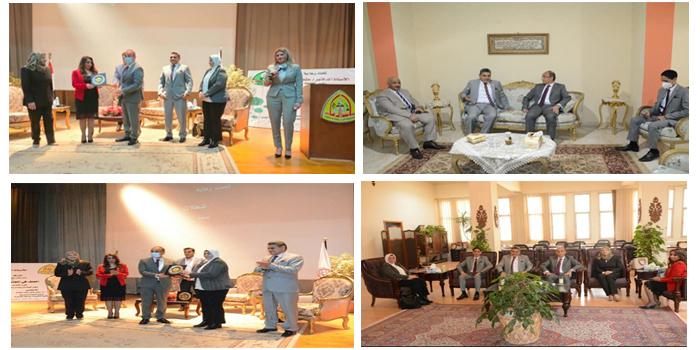 جامعة الزقازيق تنظم منتدى ثقافي بعنوان - العنف في المجتمع المصري.. تحديات ومواجهة